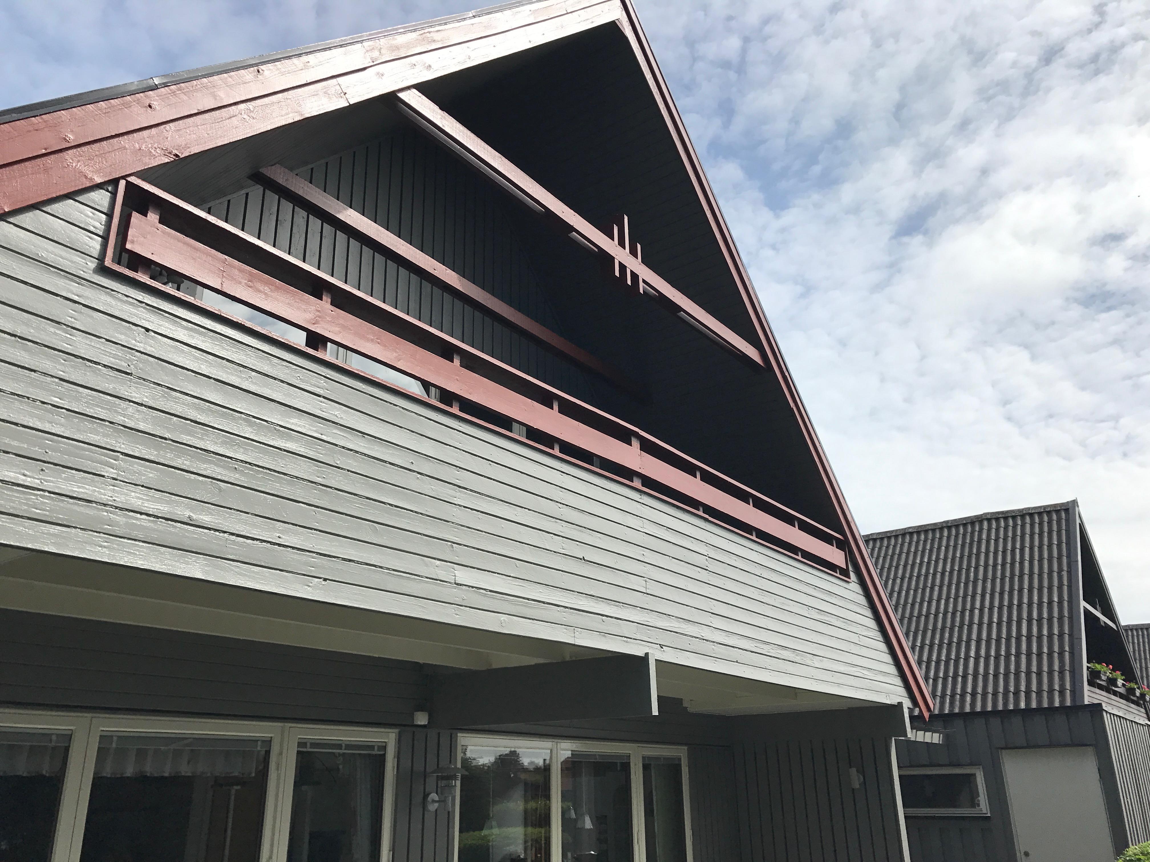 Utomhusmålning i Åkarp